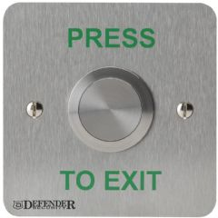 DEFENDER SECURITY DEF-0659N-1PTE  Exit Button 30Mm Vandal Resistant